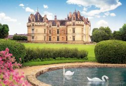 Le Lude Castle, France - 1000 el