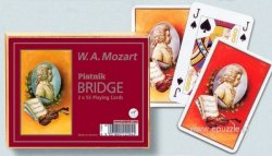 W.A.Mozart - 2 x 55 Playing cards