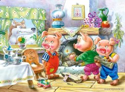 Three Little Pigs - Trzy